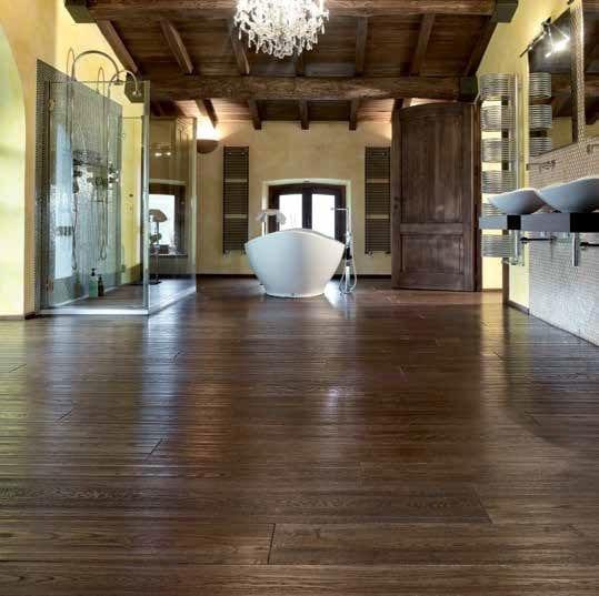 Pavimenti in legno stabilizzazione delle tavole stanze d 39 autore - Tavole in legno per pavimenti ...