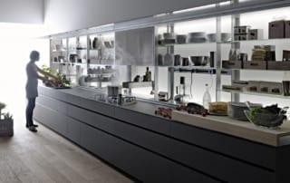 cucina valcucine ergonomica