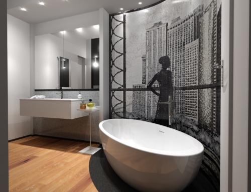 Ristrutturazione del bagno di una casa privata a Empoli