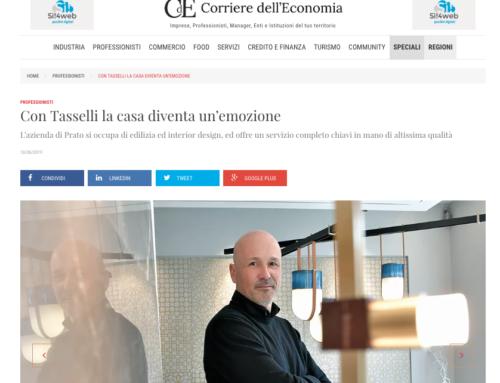 Intervista del Corriere dell'Economia a Stanze d'Autore. La nostra storia e le nostre idee.