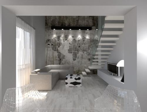 Progetto di ristrutturazione appartamento in pieno centro a Firenze