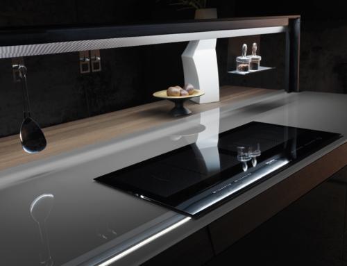 Top della cucina in vetro: è una buona idea?